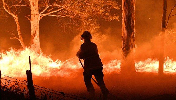 آسٹریلیا میں جنگلاتی آگ اور سیلاب ساتھ ساتھ