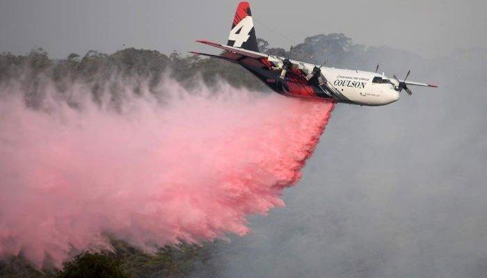 آسٹریلیا میں جنگلات کی آگ بجھانے والا طیارہ خود تباہ ہوگیا :3 افراد ہلاک