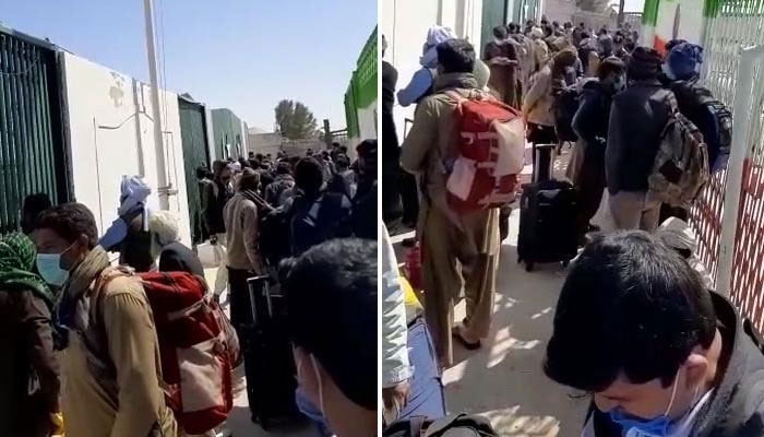 ایران سے آنے والے مزید 300 پاکستانی تفتان کے قرنطینہ سینٹر میں داخل