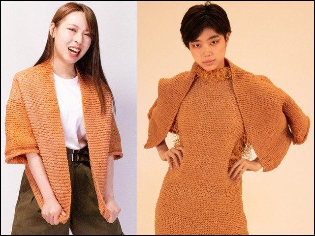 جاپانی طالبہ نے ربربینڈ سے بنے ملبوسات تیار کرلیے