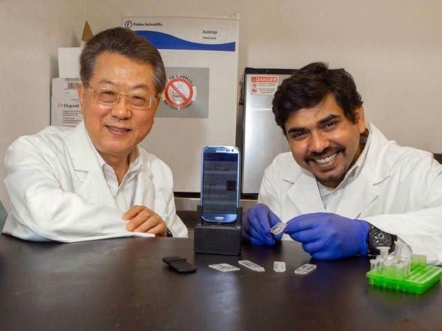 کورونا وائرس شناخت کرنے والی اسمارٹ فون لیبارٹری تیار