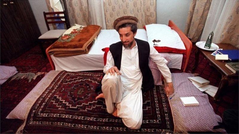 احمد شاہ مسعود کی کمر کا درد اور سخت گدے کی کہانی