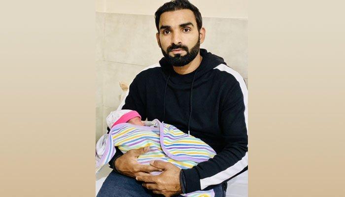 قومی کرکٹر آصف علی کے ہاں بیٹےکی پیدائش