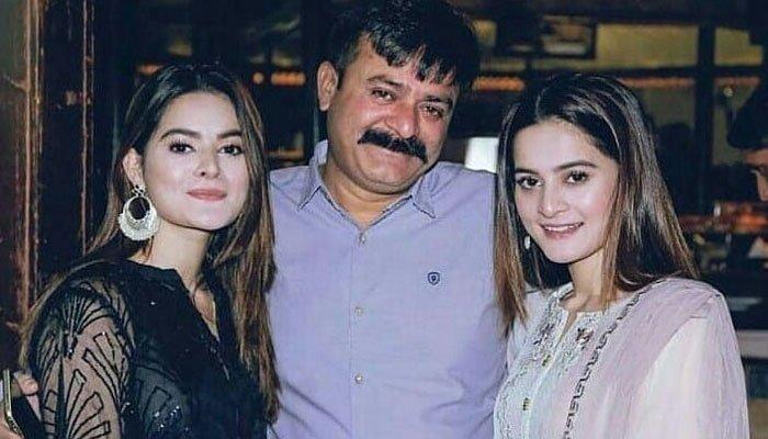 اداکارہ ایمن خان اور منال خان کے والد انتقال کر گئے