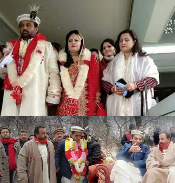 گلگت بلتستان کی تاریخ کی سب سے بڑی شادی