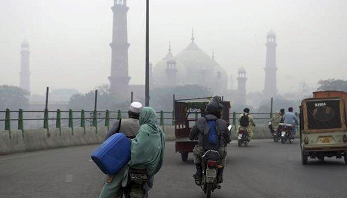 دنیا کے آلودہ ترین شہروں میں آج لاہور پہلے نمبر پر رہا