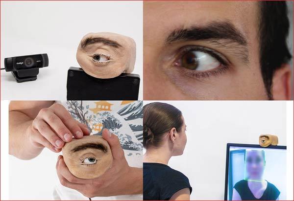 انسانی حقیقی آنکھ کی طرح دائیں بائیں دیکھنے والا پراسرار ویب کیم