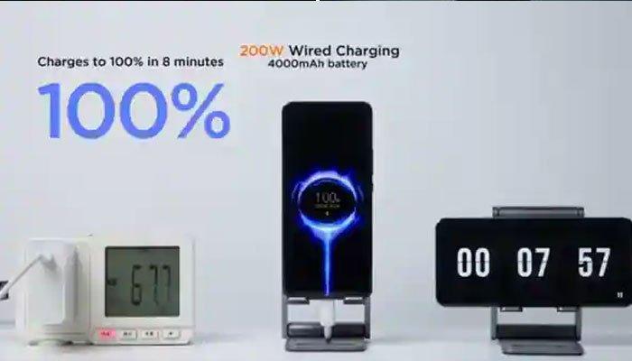 8 منٹ میں 100 فیصد اسمارٹ فون چارج کرنے والا چارجر متعارف