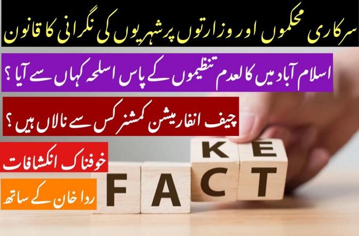 اسلام آباد میں کالعدم تنظیموں کے پاس اسلحہ کہاں سے آیا ؟