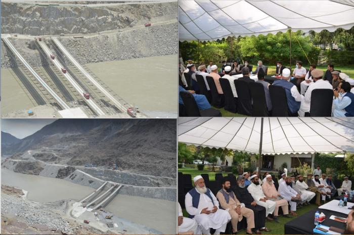 دیامربھاشاڈیم پراجیکٹ،، خیبرپختونخوا اور گلگت بلتستان کے درمیان باؤنڈری تنازع